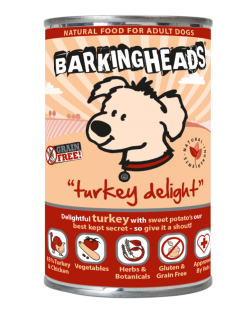 Barking Heads Turkey Delight 400gr.