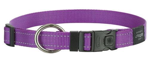 Rogz antkaklis HB11E 26-40cm purple