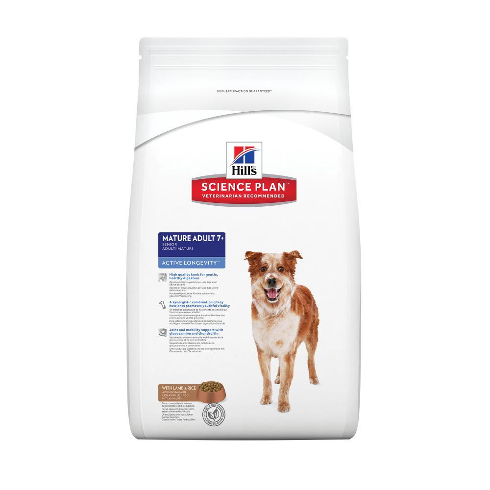 Hills Canine Senior Active Longevity Lamb & Rice 12kg.