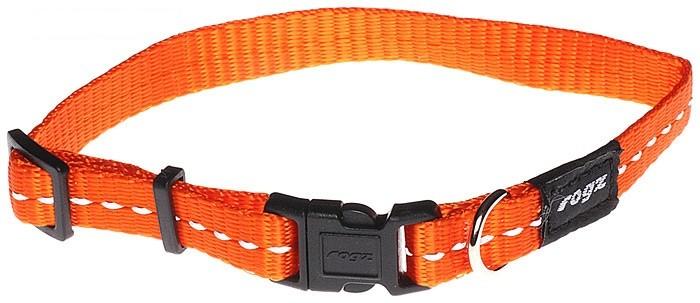 Rogz antkaklis HB14D Orange 20-32cm