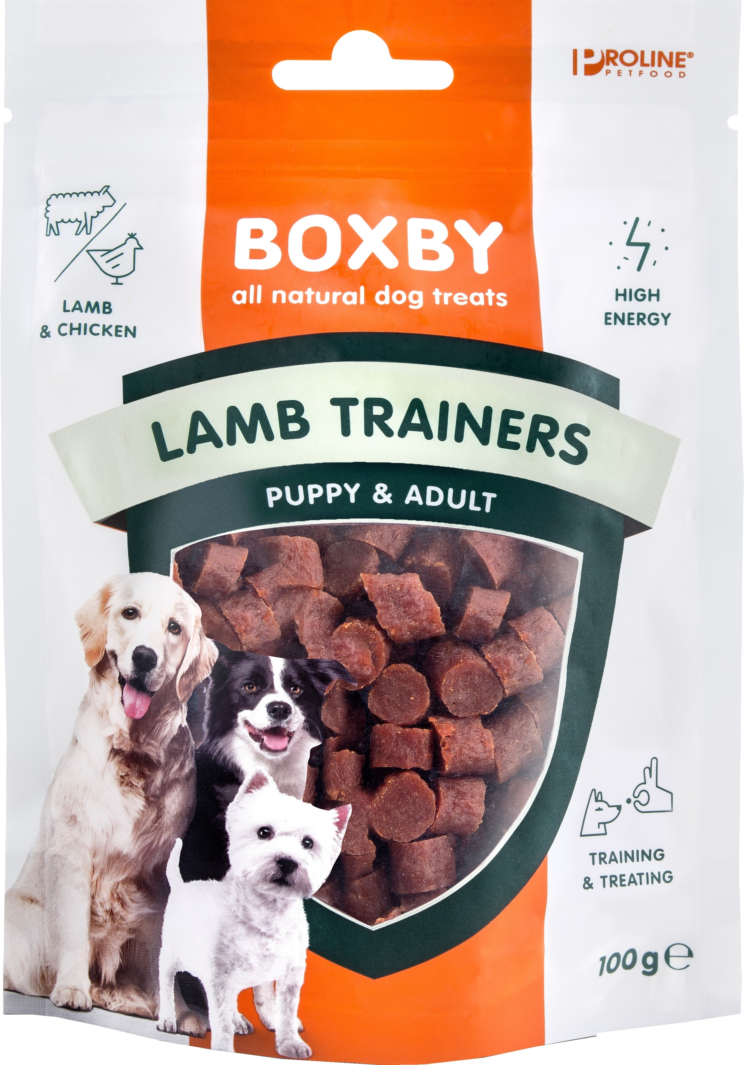 Boxby Lamb Trainers 100g.