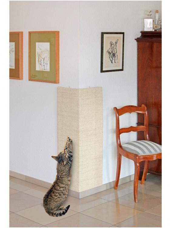 Draskyklė Flamingo katei kampinė 28x80cm