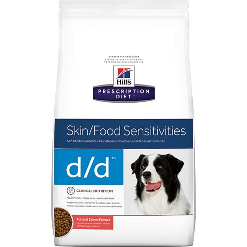Hills Prescription Diet® Canine d/d Salmon & Rice 12kg.