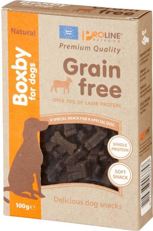 Boxby Grain Free Lamb hypoallergenic  100g.