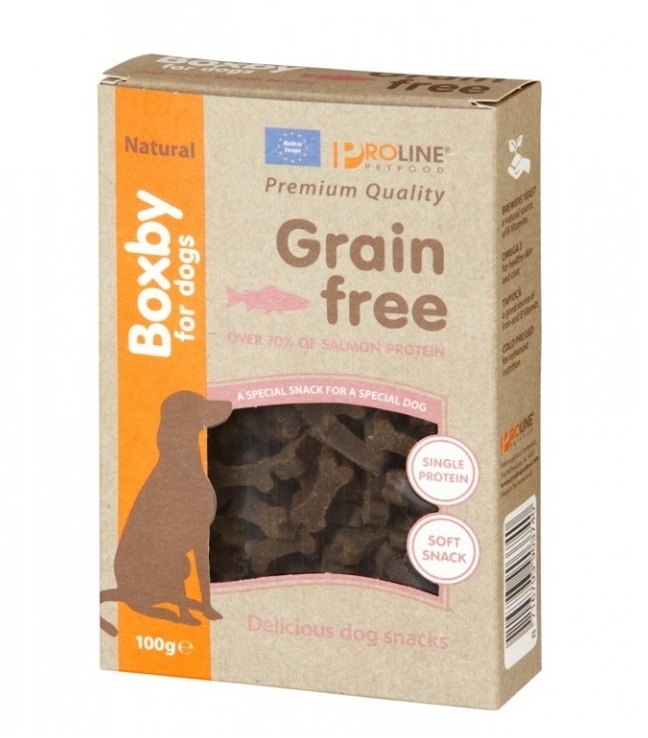 Boxby Grain Free Salmon hypoallergenic 100g.