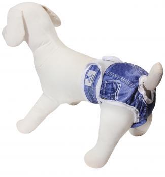 Šunų kalių daugkartinės sauskelnės XS dydis
