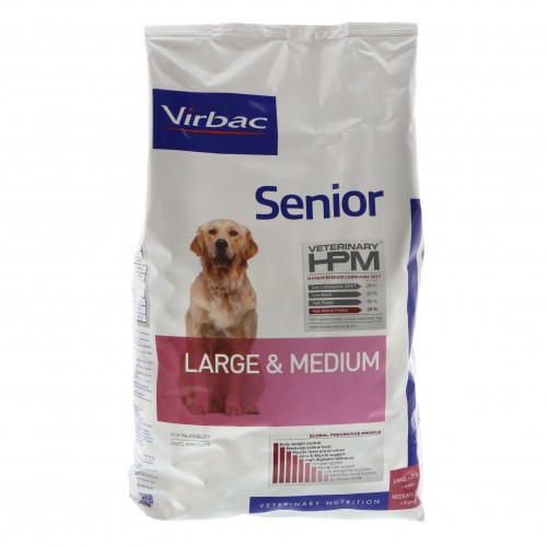 Virbac HPM  Senior LARGE & MEDIUM dogs 12kg