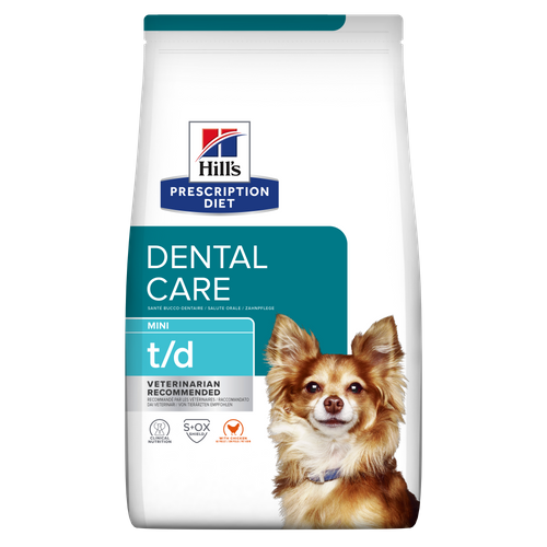 Hills Prescription Diet® Canine t/d Mini 3kg.