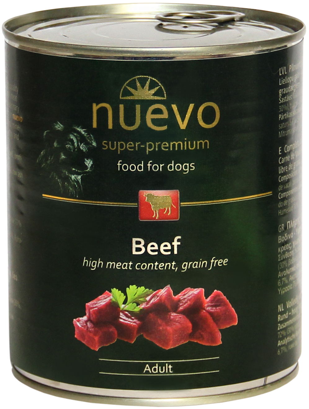 Nuevo konservai Beef Menu 800gr