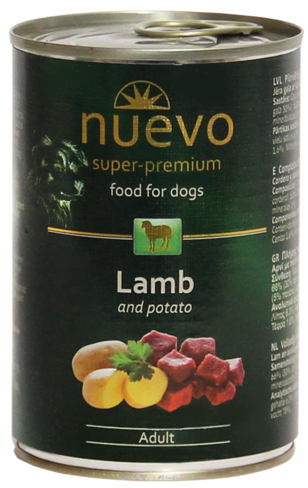 Nuevo konservai Lamb Menu 800gr