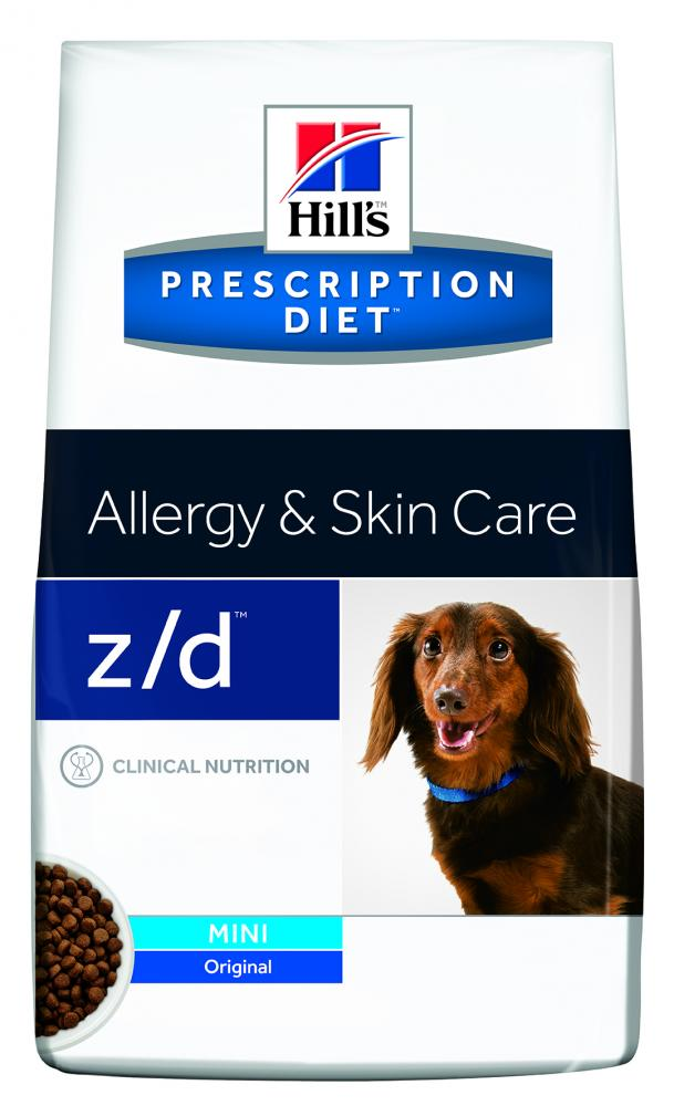 Hills Prescription Diet z/d Canine Mini 1,5kg.