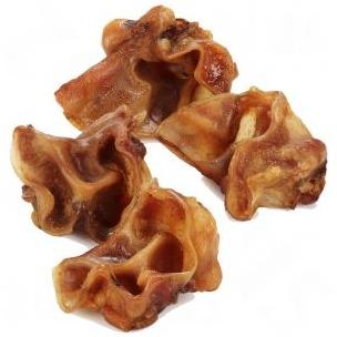 Fortos džiovintos vidinė kiaulių ausies dalis 200gr