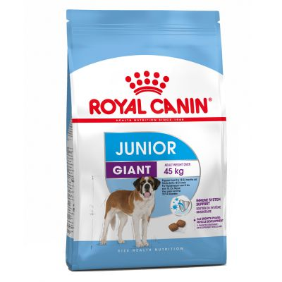 Šunų maistas Royal Canin Giant Junior 15kg.
