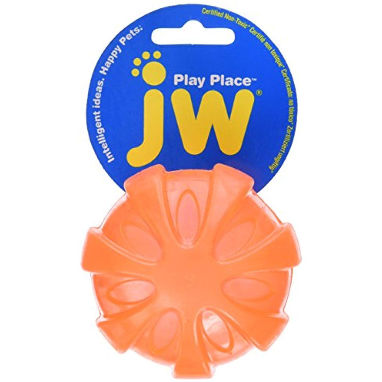 JW Squeaky Ball cypiantis kamuolys S