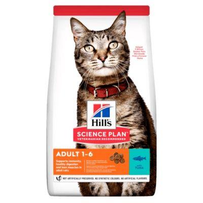 Kačių maistas Hills Feline Adult Optimal Care Tuna 10kg.