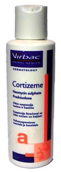 Cortizeme odos suspensija šunims ir katėms 125ml.