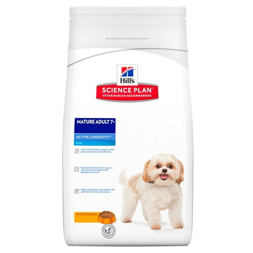 HILLS Science Plan Canine Senior Mini 7,5kg.