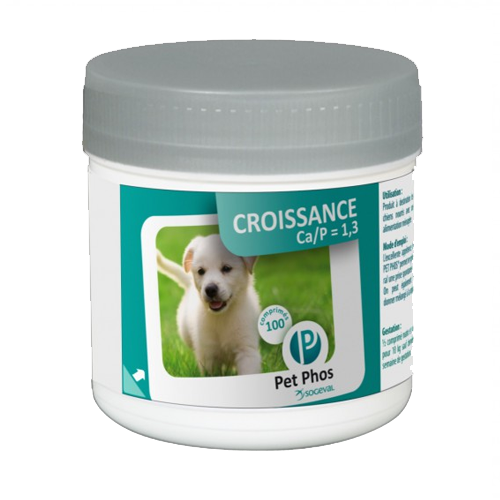 Pet-Phos Ca/P=1.3 vitaminai N100