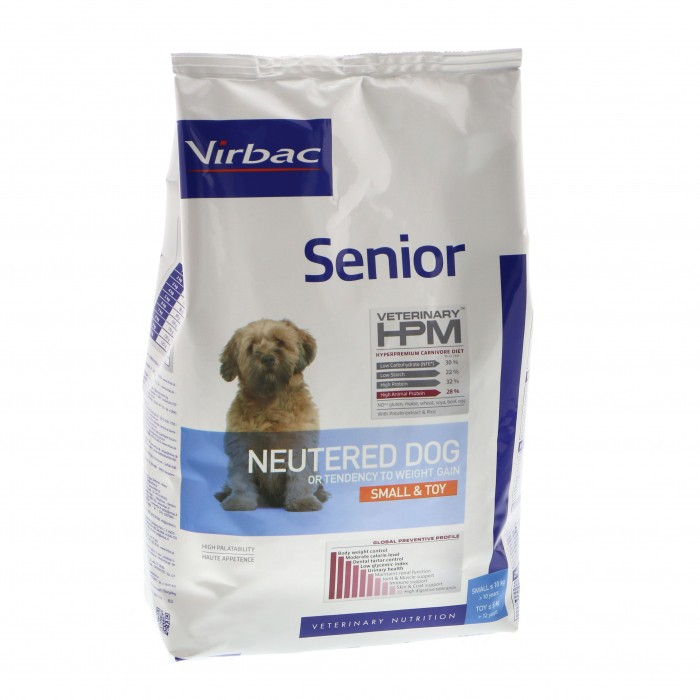 Virbac HPM Senior Neutered Small & Toy Dog 3kg