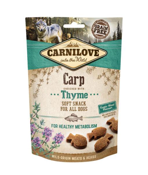 Carni love Dog skanėstas Carp with Thyme 200gr