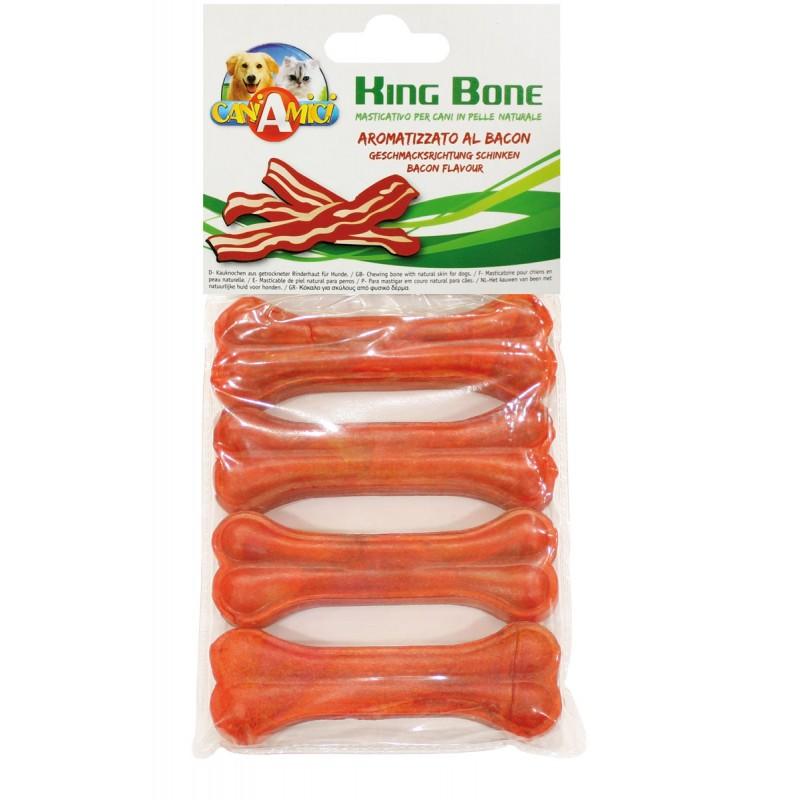 Sausgyslinis kaulas King Bone Bacon 10cm-4vnt