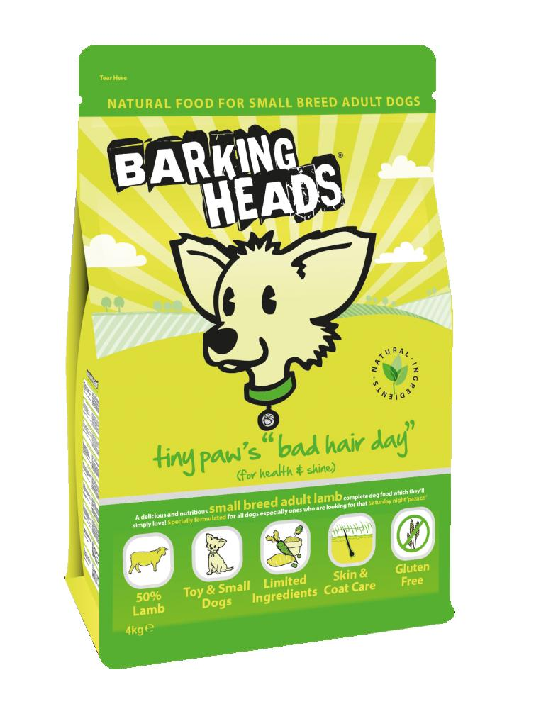Barking Heads Tiny Paws Bad Hair Day 4kg.