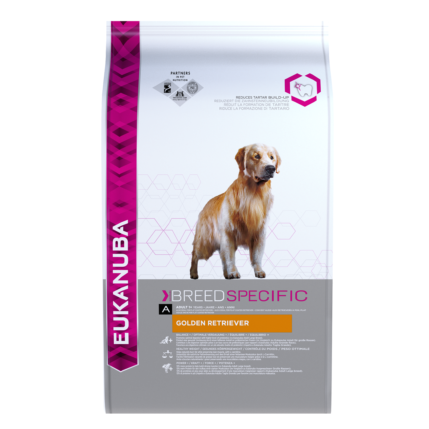 Eukanuba Dog Adult Golden Retriever 12kg.