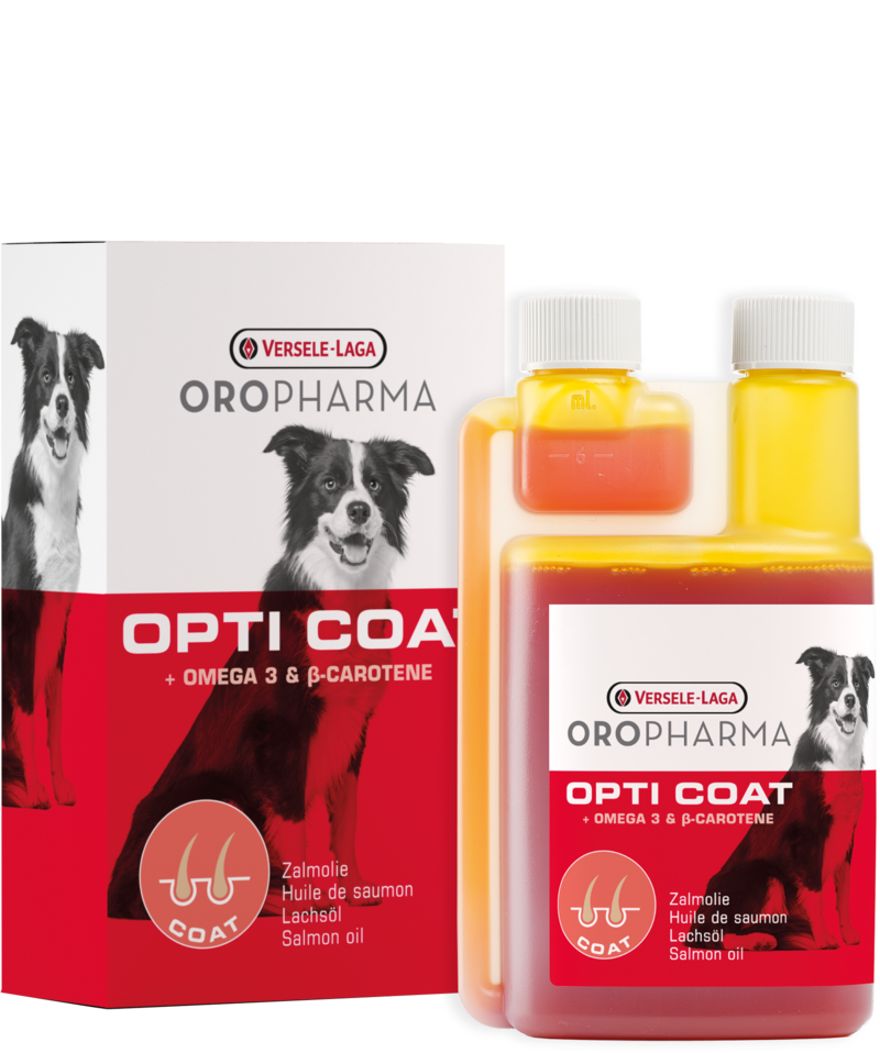 OPTI COAT + Omega -3 ir beta karotinas 250ml