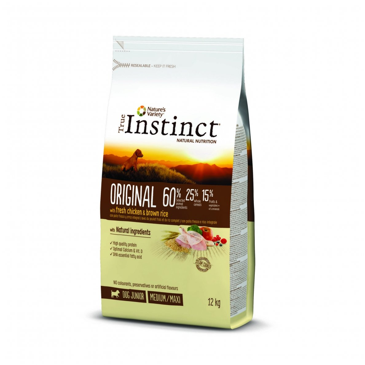 True Instinct ORIGINAL Junior Medium Maxi 2kg