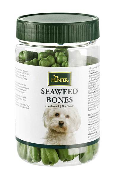 Hunter Seaweed Bones kauliukai su jūros dumbliais 200gr/28vnt