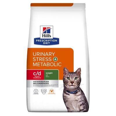 Hills Prescription Diet Feline Metabolic+Urinary 4kg.