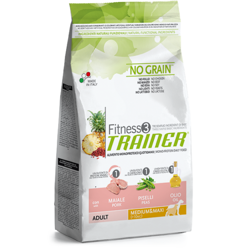 Trainer Fitness  3 Maxi/Medium Adult Pork 12,5kg.