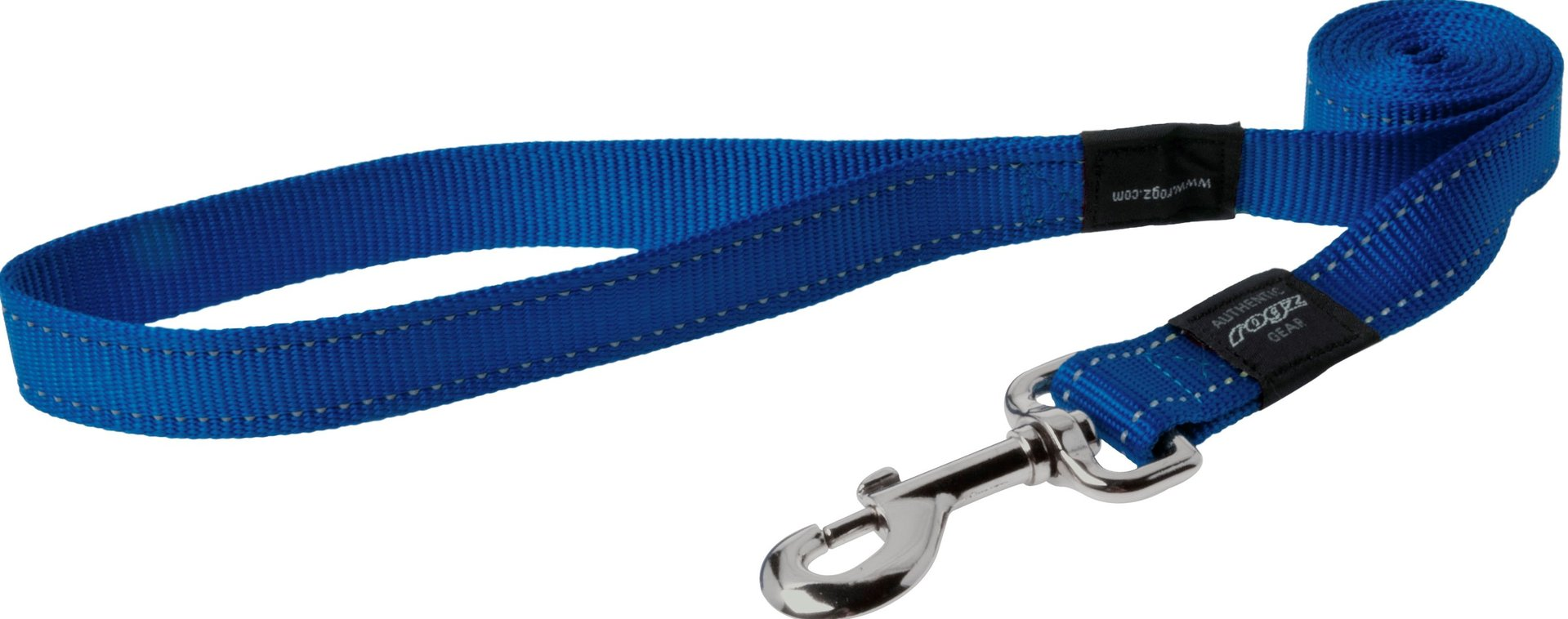 Rogz pavadys su atšvaitu HL05B Blue 1,2m-2,5cm