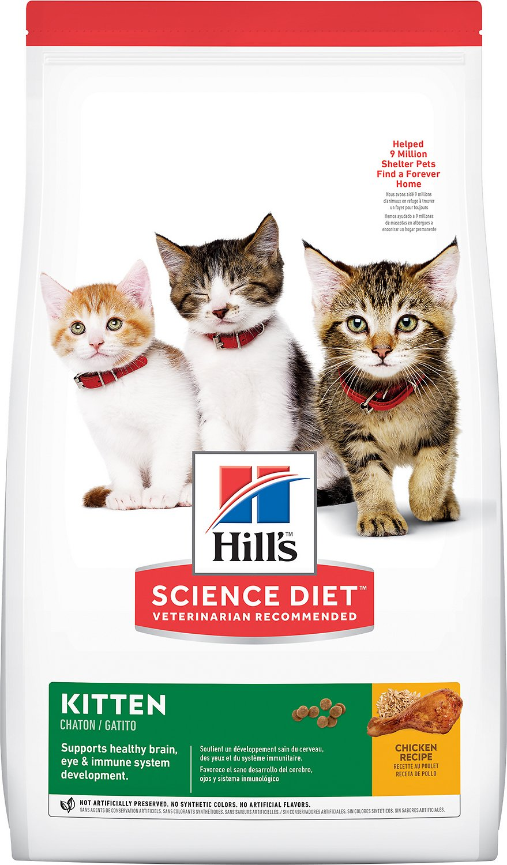 Kačių maistas Hills  Feline Kitten Chicken 5kg.