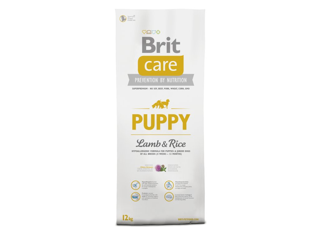 Brit Care Puppy Lamb&Rice 3kg.