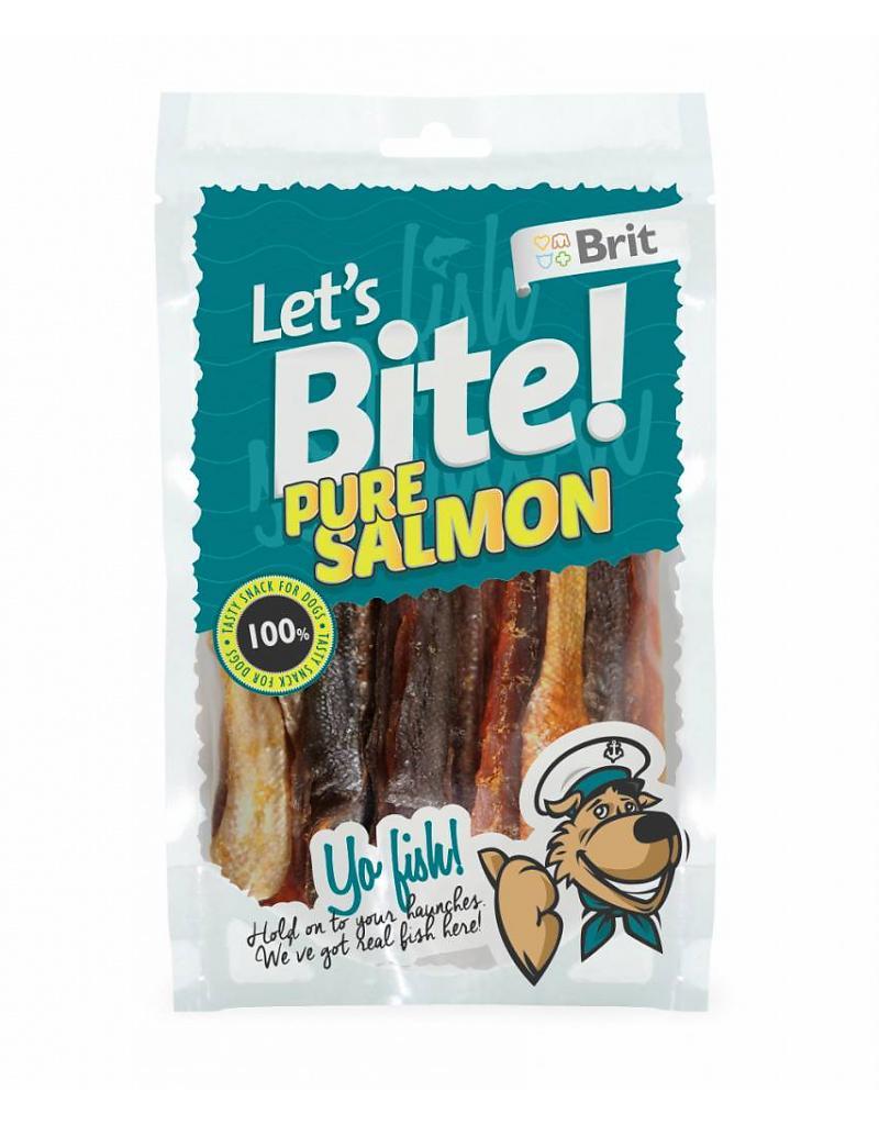 Brit Care Lets Bite Pure Salmon 80gr.