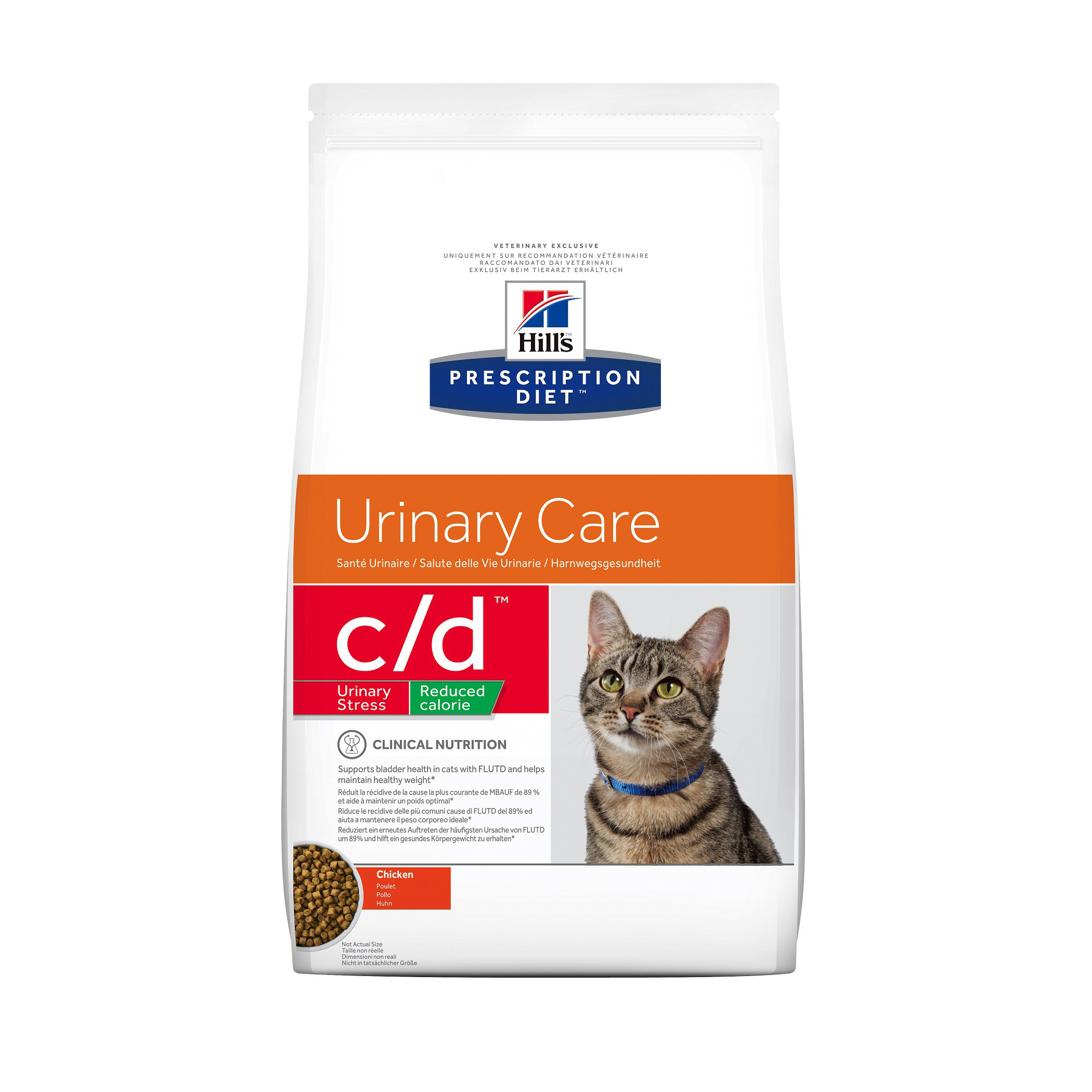 Hills Prescription Diet Feline c/d Urinary Stress 4kg