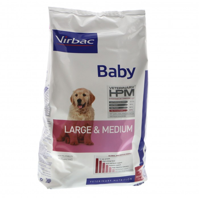 Virbac HPM Baby Large and Medium 12kg