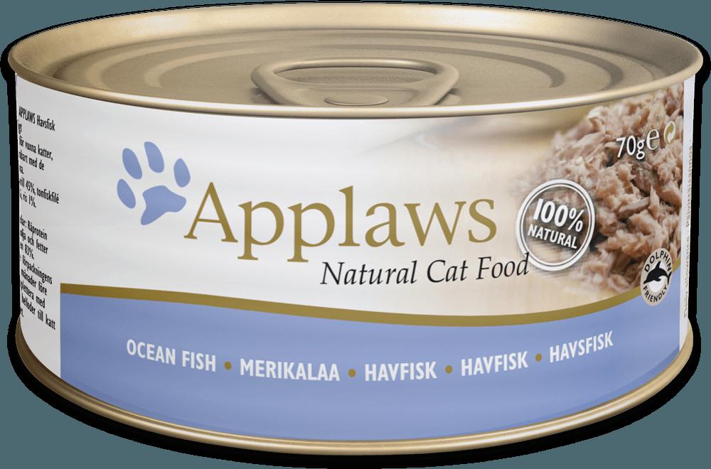 APPLAWS Cat Ocean Fish 156gr kons.