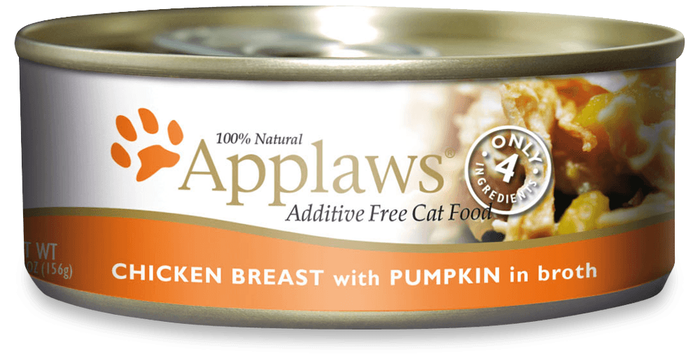 APPLAWS Cat  Chicken&Pumpkin 156gr kons.