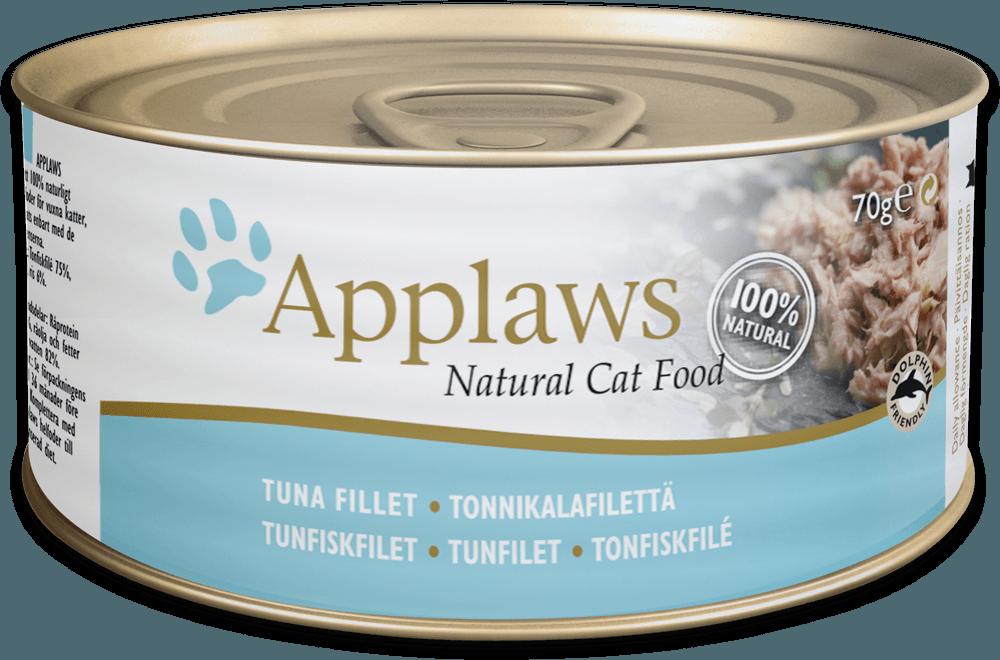 APPLAWS Cat Tuna fillet 156gr kons.