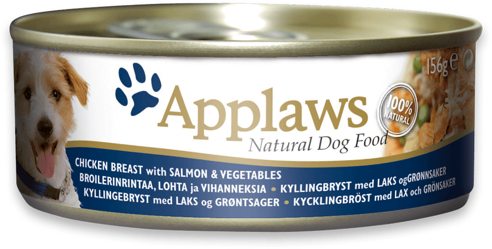 Applaws Dog Chicken, Salmon & Vegetables 156gr. kons.
