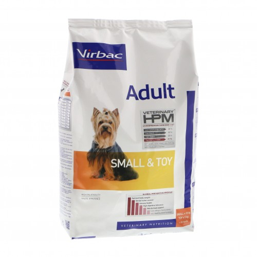 Virbac HPM  Adult SMALL and TOY dogs 7kg