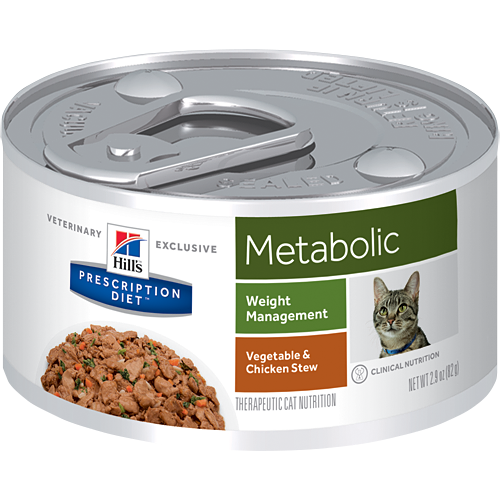 Hills Prescription Diet Feline Metabolic konservai 156gr