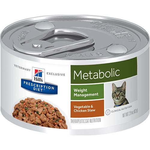 Hills Prescription Diet Feline Metabolic konservai 156gr