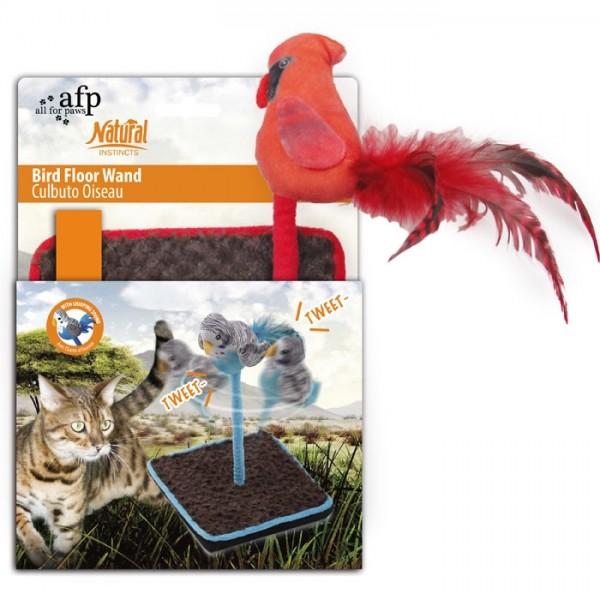 Žaislas Katėms Paukštis ant stovo