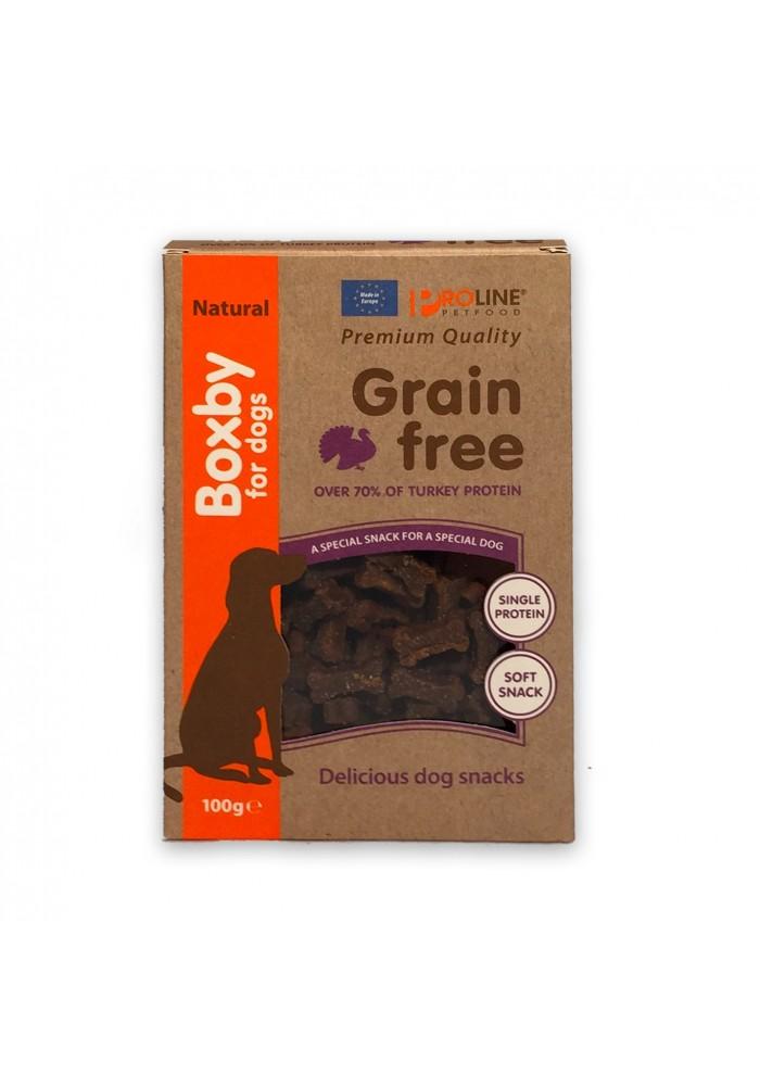 Boxby Grain Free Turkey hypoallergenic 100g.