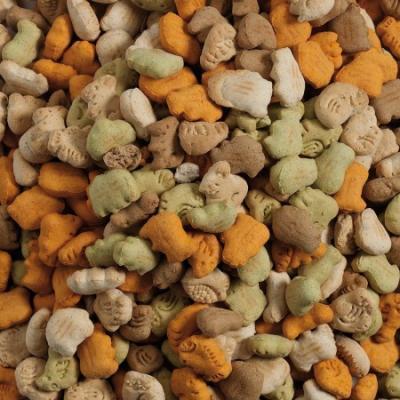 Skanėstai sausainiai Assorted Vanilla 1kg