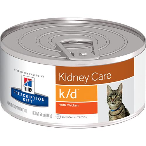 Hills Prescription Diet k/d Feline 156g