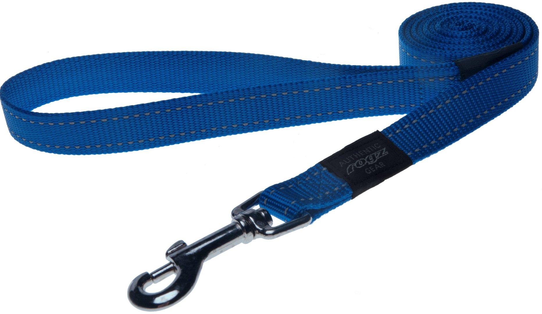 Rogz pavadys su atšvaitu HL06B Blue 1,4m-2cm